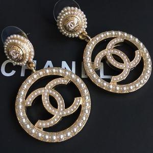Chanel Hoops Earrings